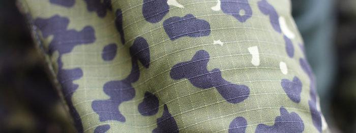 camouflage-stof