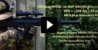 VFC Scar-H WideBore Gameplay