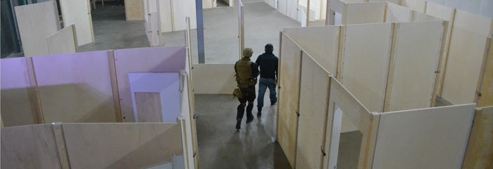 Running The Target Den Haag Indoor Airsoft CQB