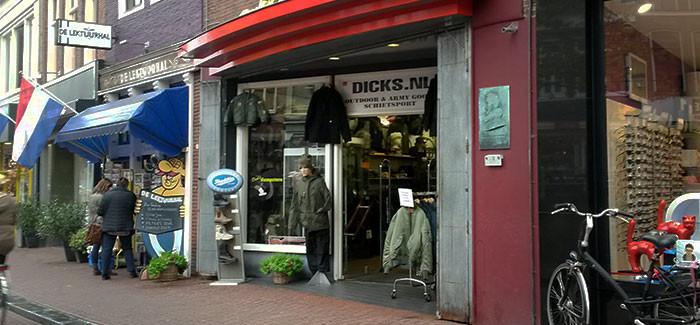 Winkelen bij Dick's